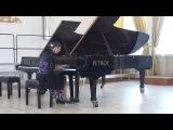 Государственный экзамен по фортепиано. Юданова Ангелина. Моцарт соната фа мажор, Эшпай